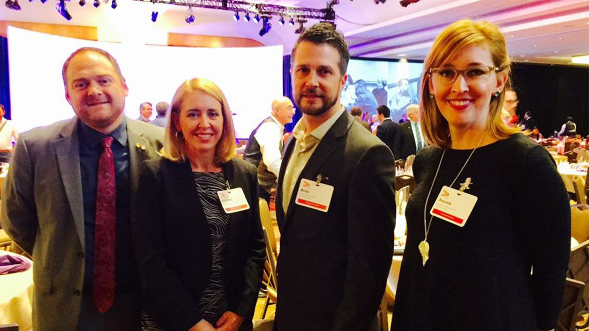 Brian Whitmore Attends AIA Grassroots Conference in Washington DC