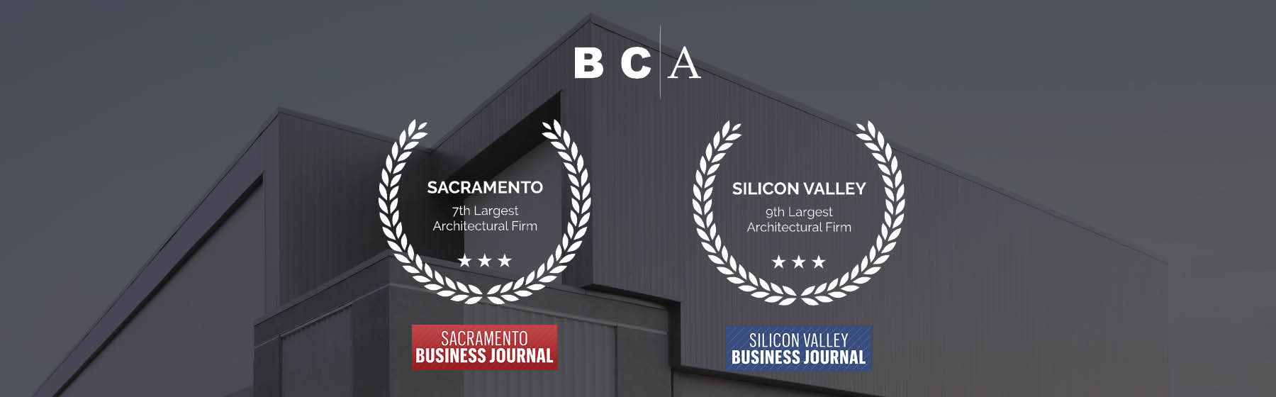 BCA Architects Earns Top Architectural Firm Rankings