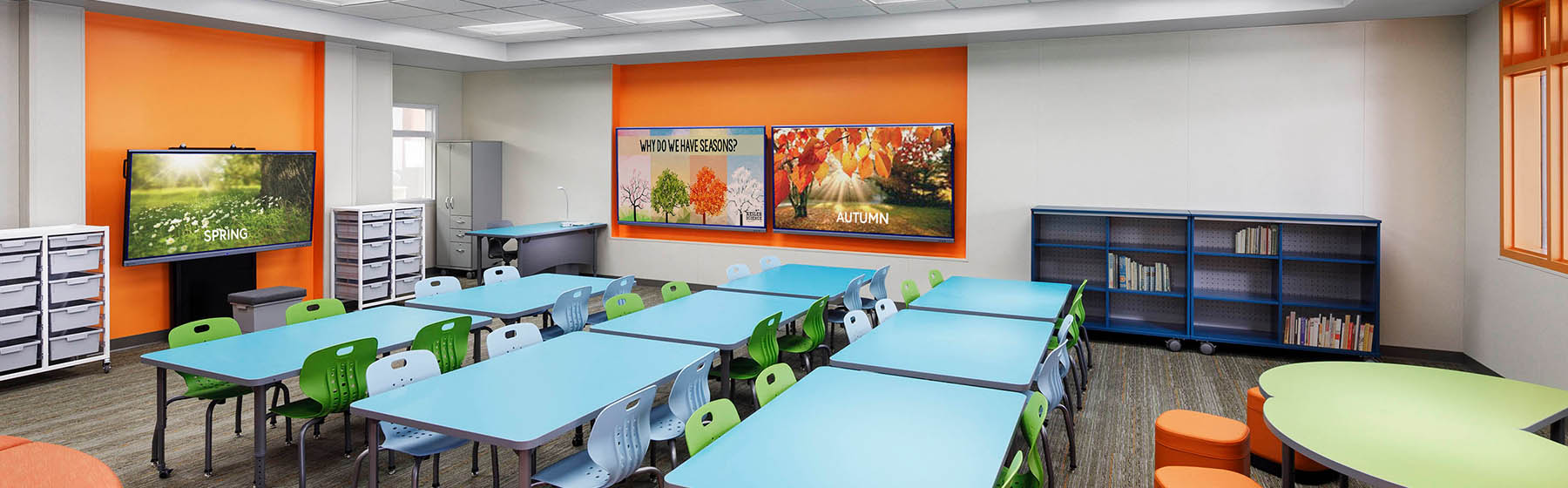 Phase 2 Improvements Are Complete at Huntington Seacliff Elementary School