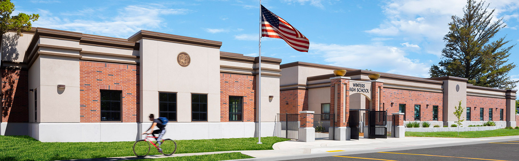 Winters High School Receives New Administration Building