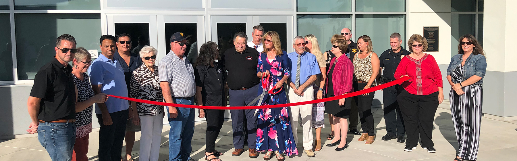Wilson Middle School Multipurpose Building Ribbon Cutting Ceremony