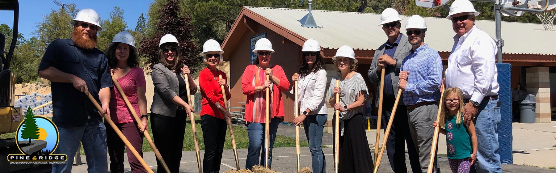 Breaking Ground at Pine Ridge School