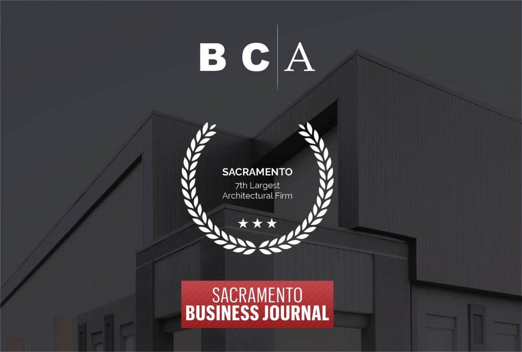 "Sacramento Business Journal ""Top Architect"" Award"