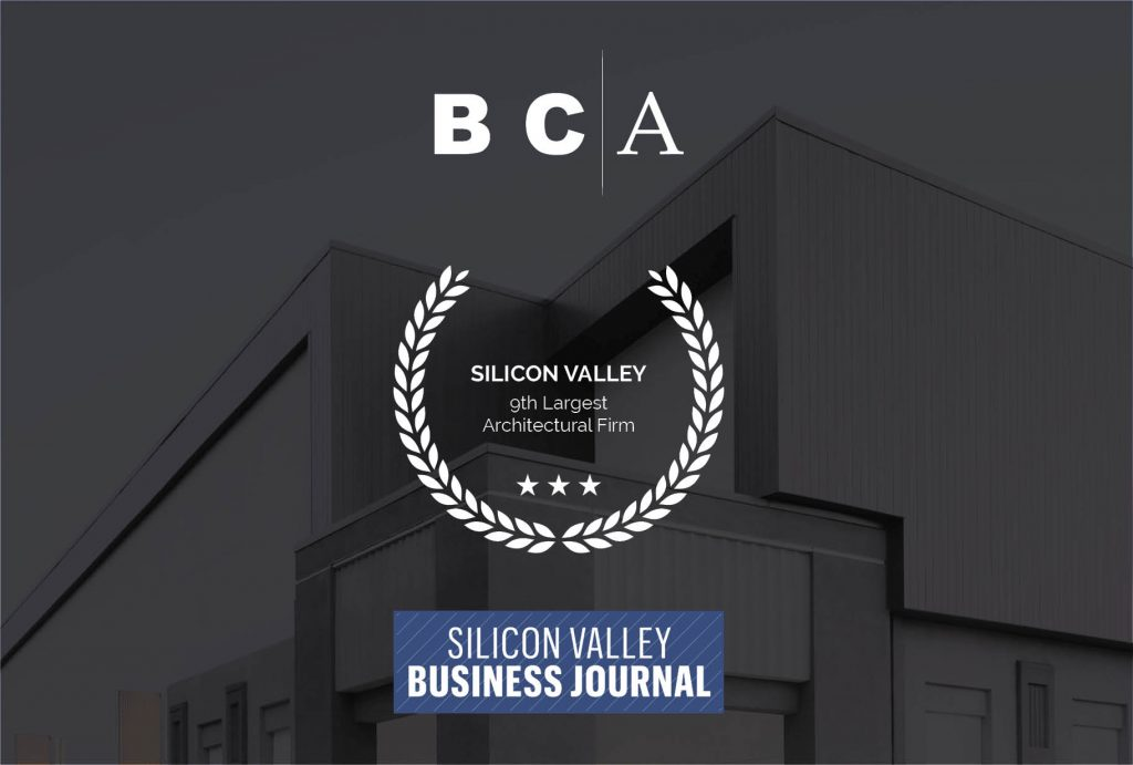 "Silicon Valley Business Journal ""Top Architect"" Award"