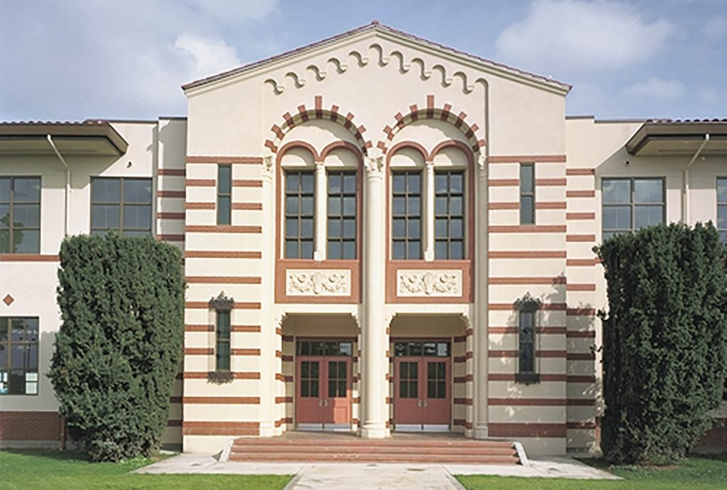 Washington High School Historic Reconstruction